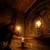 Soudain, dans le Tombeau du Christ, les appareils de mesure ne répondent plus