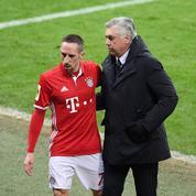 Quand Carlo Ancelotti compare Franck Ribéry à «une Ferrari»