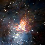 Un «feu d'artifice» dans un berceau d'étoiles