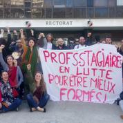 À Grenoble, les professeurs stagiaires sont en grève