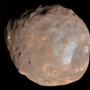 La France veut mettre le pied sur une lune de Mars