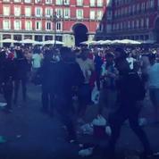 Incidents avec la police à Madrid, dix supporters de Leicester arrêtés