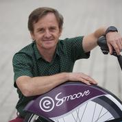 Laurent Mercat, en roue libre