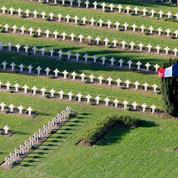 Hollande sur le Chemin des Dames, cent ans plus tard
