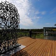 Centenaire du Chemin des dames: une sculpture érigée en l'honneur des soldats