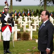 Hollande au Chemin des dames: «L'histoire bégaie quand le nationalisme resurgit»