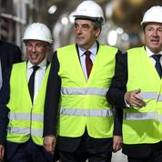 À Nice, Fillon fustige «la révolution» et «la fausse alternance» de Mélenchon et Macron