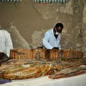 Égypte: six momies découvertes dans une tombe de l'époque des pharaons