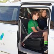 Google installe des familles dans ses voitures autonomes