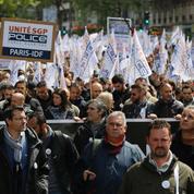 Plusieurs milliers de policiers «en colère» dans les rues de Paris
