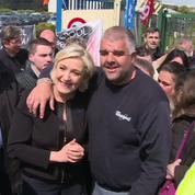 Whirlpool: Marine Le Pen a commencé une campagne «guérilla»