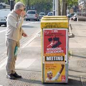 Toulouse verbalise l'affichage sauvage de la campagne présidentielle