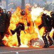 Policier gravement brûlé : une branche de la CGT ironise sur le «poulet grillé»