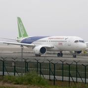 Premier vol réussi pour le C919, premier rival chinois d'Airbus et Boeing