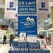 Dix millions de litres de lait équitable vendus en six mois