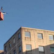 Cdiscount a testé la livraison de jouets par drone à Noël