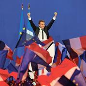 Macron veut montrer sa force en s'imposant largement