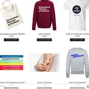 T-shirts, mugs, tatoos : Emmanuel Macron est aussi un succès commercial