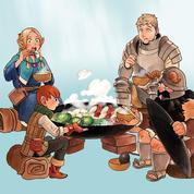 Gloutons et dragons, le manga de fantasy à dévorer