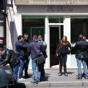 Une horlogerie de luxe braquée près des Champs-Élysées
