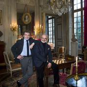 Joseph Achkar et Michel Charrière, duo chic