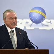 Au Brésil, le président Temer cherche à se maintenir au pouvoir
