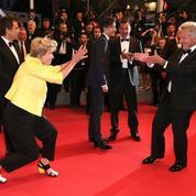 La photo du jour à Cannes: la danse d'Emma Thompson et de Dustin Hoffman