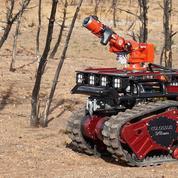 Colossus, le robot qui aide les pompiers