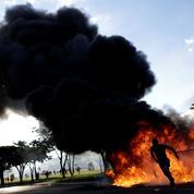 Brésil : 49 personnes blessées dans des affrontements entre policiers et manifestants