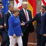 Sous l'Etna, un G7 autour du volcan Trump
