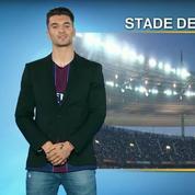 Thomas Meunier présente la météo à la pause d'Angers-PSG