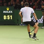 Roger Federer arbore un nouveau look pour son retour à la compétition