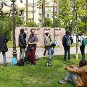 Entre la Roya et Nice, des convois de migrants à pied