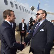 Macron et Mohamed VI font connaissance à Rabat