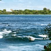 Spot de surf recherché à Montréal, le fleuve est aussi propice à la balade