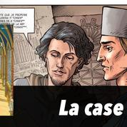 La case BD : Le mystère de la Sainte-Chapelle ou l'architecte surdoué du roi