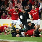 L'essai exceptionnel des Lions britanniques contre les All Blacks