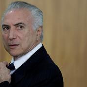 Brésil : le président Michel Temer formellement accusé de corruption