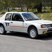 Peugeot 205 T16, jamais roulé !
