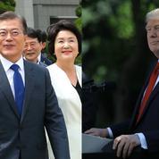 Divergence au sommet entre Trump et le Sud-Coréen Moon