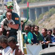 L'Italie exaspérée par l'afflux de migrants