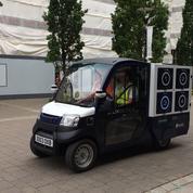 À Londres, le premier test de livraison de courses en camionnette autonome