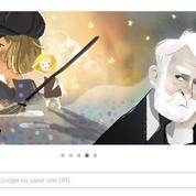 Google rend hommage à Victor Hugo