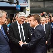 Macron, dans les yeux des grands patrons