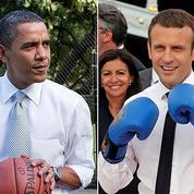 Chez Emmanuel Macron, comme un air de Barack Obama