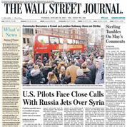 The Wall Street Journal abandonne son édition papier en Europe