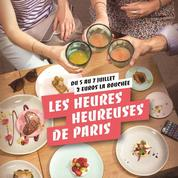 Les Heures Heureuses de Paris 2017, l'apéro à prix doux