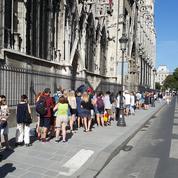 Une appli pour éviter les files d'attente à Notre-Dame