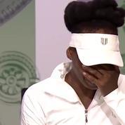 Venus Williams dévastée à Wimbledon après son accident de voiture mortel