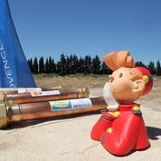 Spirou pose la première pierre de son parc de loisirs